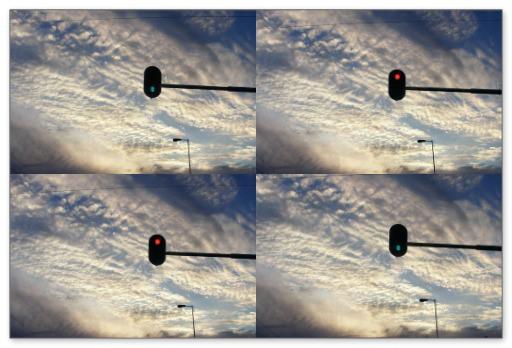 Stoplicht-vierluik